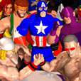 Gif animata in 3 D: Thor vs Wonder Man by Mitchel