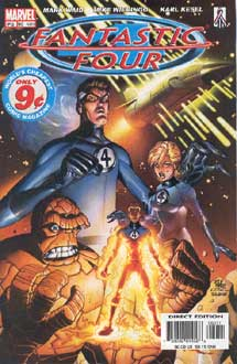 Fantastic Four (c) Marvel Comics