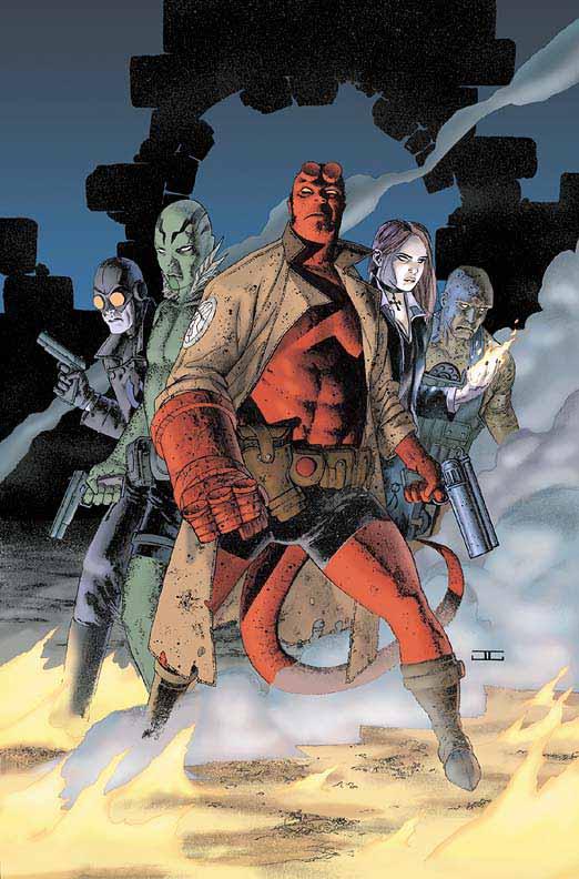 Amazing Comics - Hot image! - Hellboy by John Cassaday