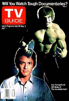 Bill Bixby & Lou Ferrigno: David Banner & Hulk nella serie TV