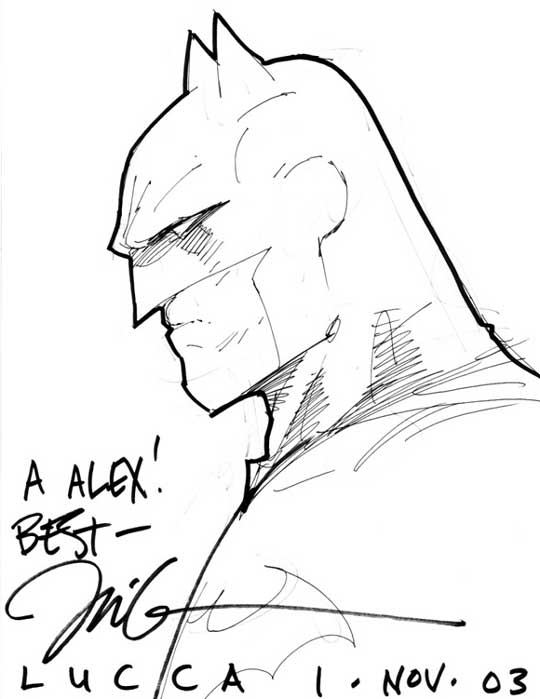 Batman by Jim Lee