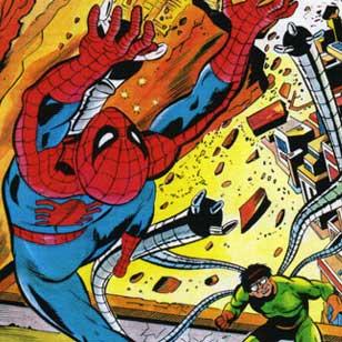 Spider-Man disegnato dal brasiliano Wilson Vieira