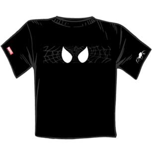 La t-shirt di Spider-Man creata da Panini Comics France
