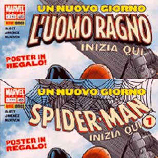 L'Uomo Ragno diventa Spider-Man anche nei fumetti!