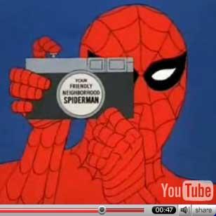In diretta da YouTube, la serie animata degli anni '70