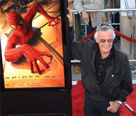 "Stan Lee alla prima mondiale di ""Spiderman the movie"""