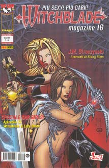 Witchblade (c) Top Cow - Lady Death (c) Chaos!Comics